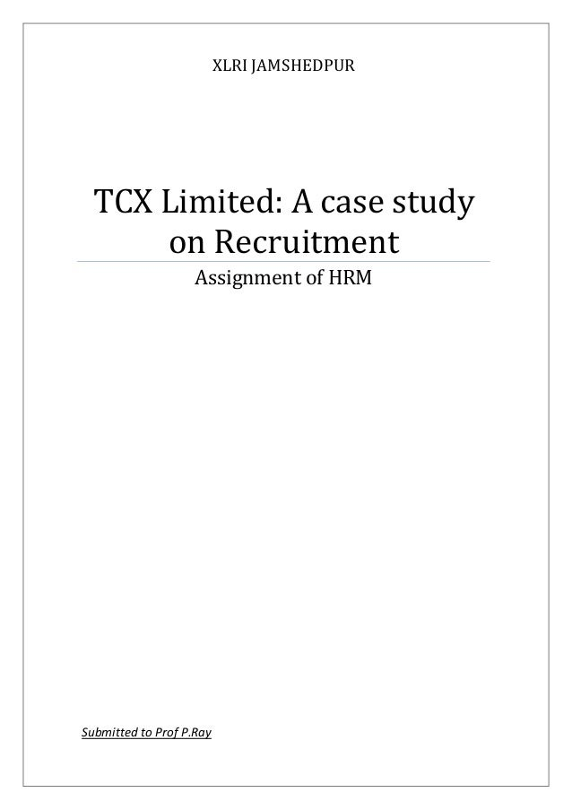Case Study: Improving Recruitment Processes – Part 1 of 2