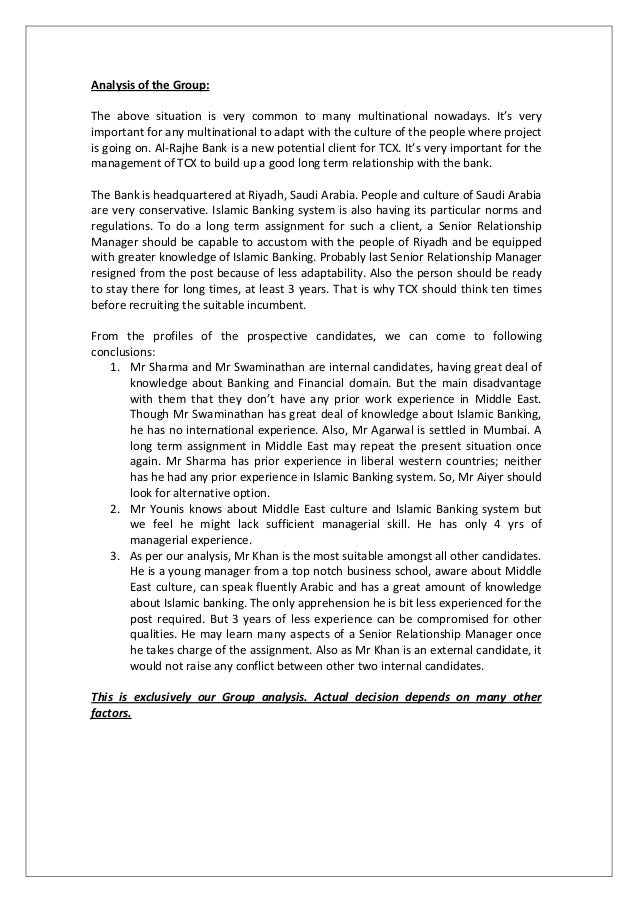 menton bank case study analysis