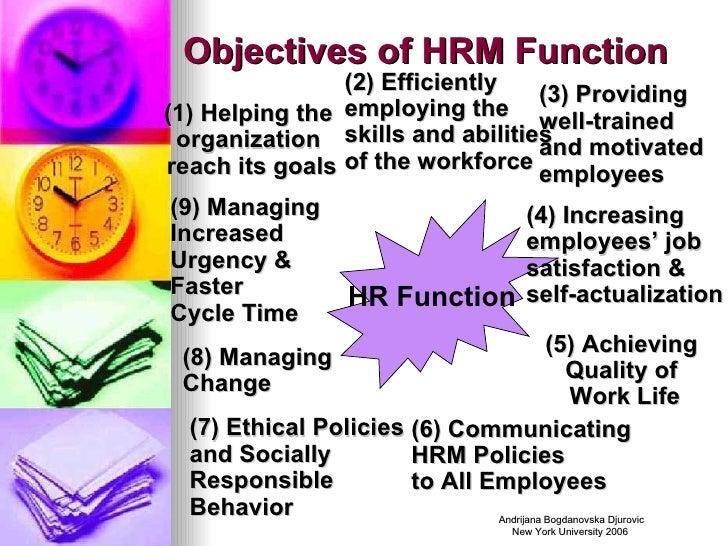 function of hrm