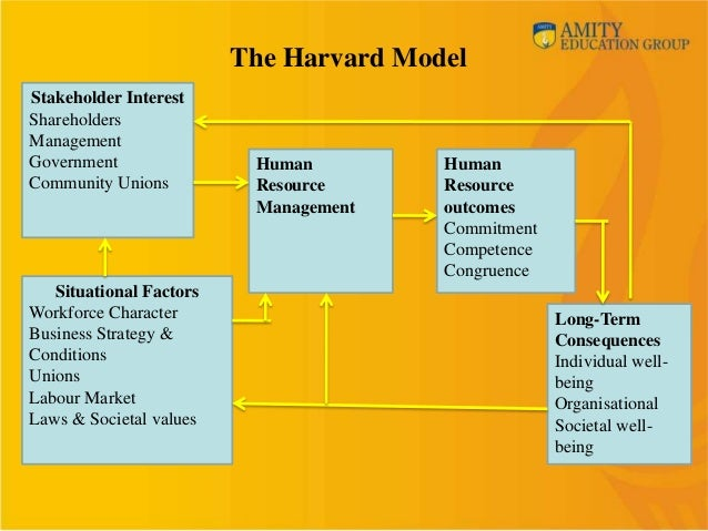 an analysis of the human resources management and strategy development