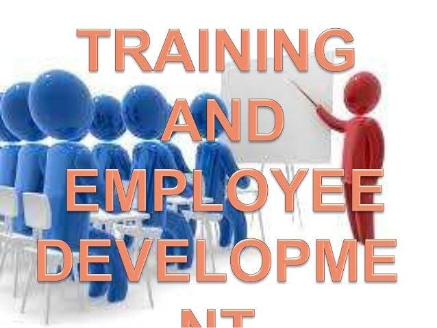 training and employee development