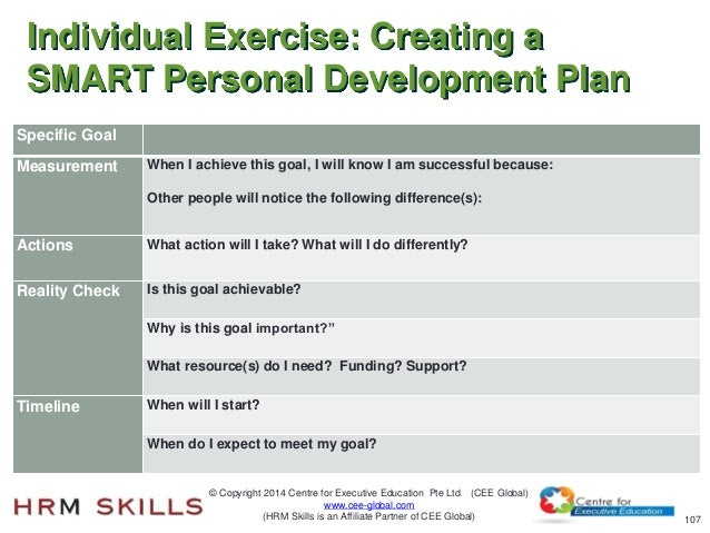 individual development plan emotional intelligence Social intelligence vs emotional intelligence: what's the difference if you have been reading my personal development blog, you know the importance of both social (sq) and emotional intelligence (eq) for your success in life.