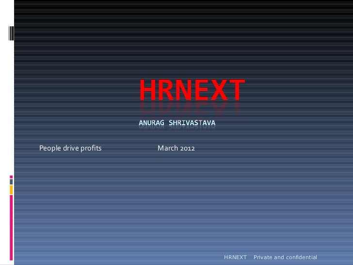 HRNEXT - people are profits