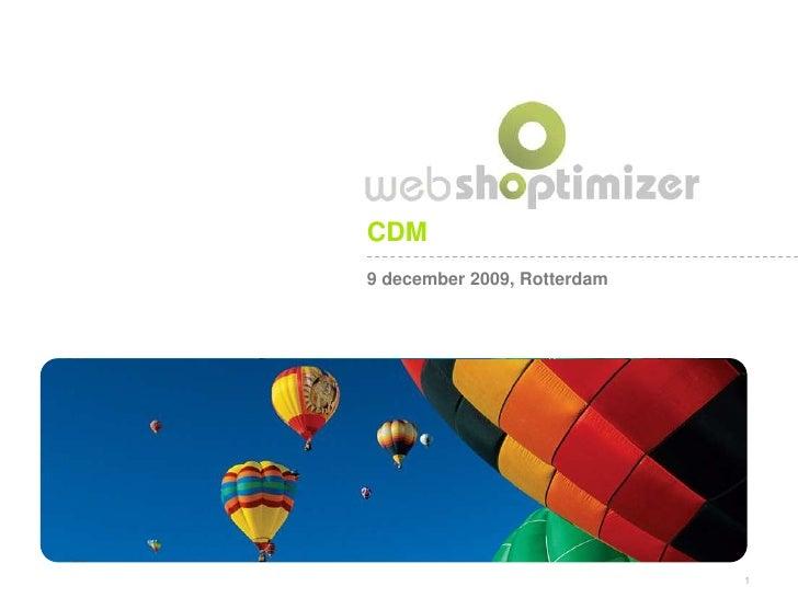 CDM 9 december 2009, Rotterdam                                  1