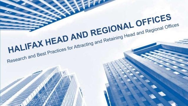 Head and Regional Office Report Presenation