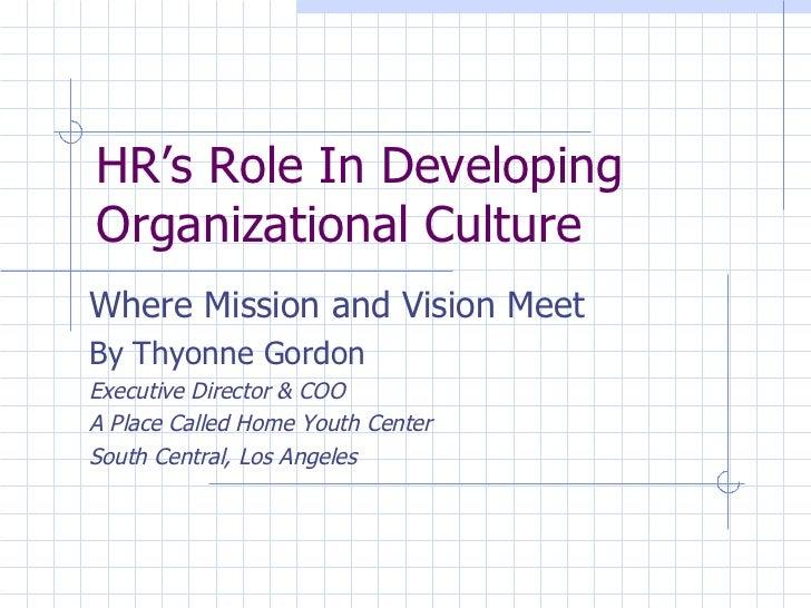 Hr Org Culture