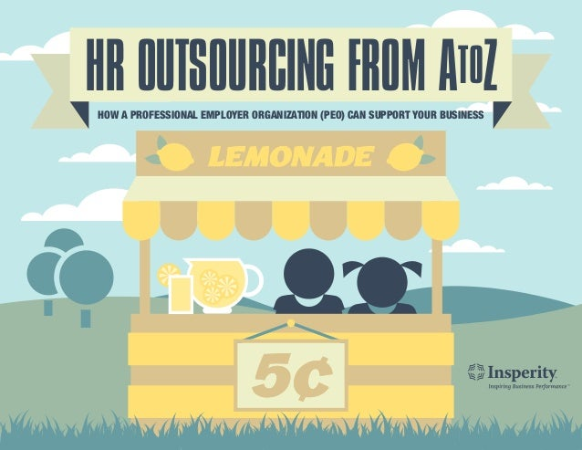 HR OUTSOURCING FROM ATOZHOW A PROFESSIONAL EMPLOYER ORGANIZATION (PEO) CAN SUPPORT YOUR BUSINESS