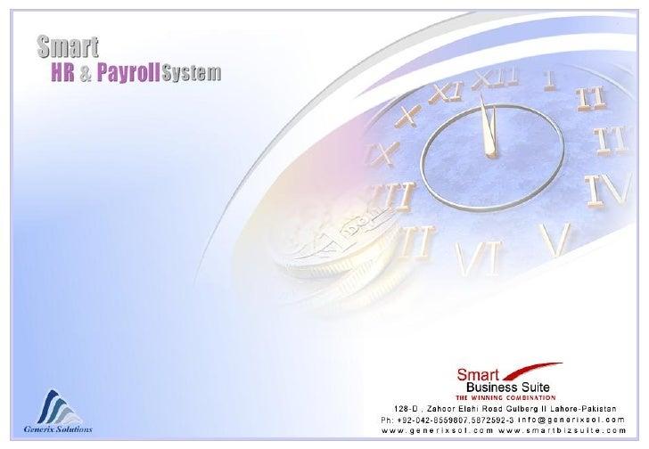 HR, Payroll & Attendance - Presentation & Screen Shorts