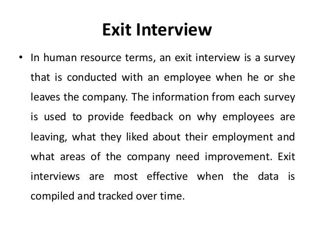 Exit Interview Cover Letter Images Exit Interview Cover Letters ...