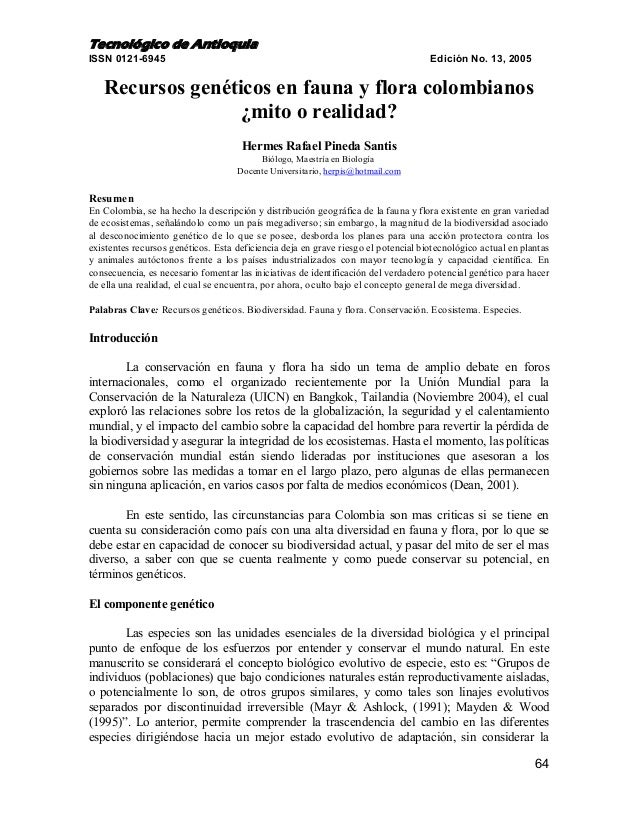 Tecnológico de AntioquiaISSN 0121-6945                                                                      Edición No. 13...