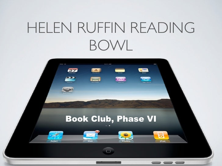 Helen Ruffin Reading Bowl Book Club, Phase VI