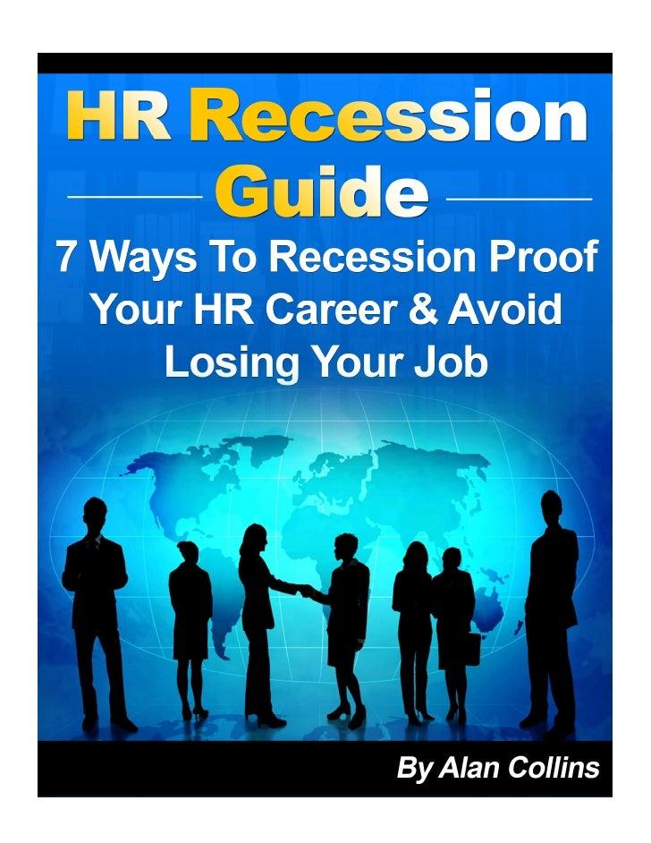 Hr Recession Guide