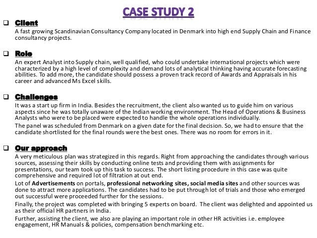 Leadership case study with solution