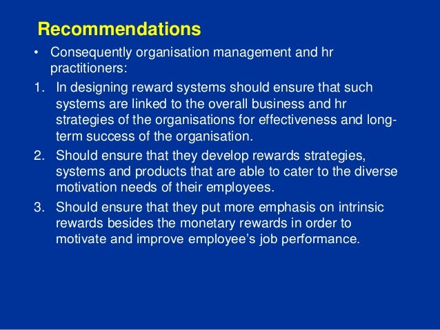 "total rewards versus performance Performance management and compensation as management practices in performance management and compensation ""total of all rewards provided to."