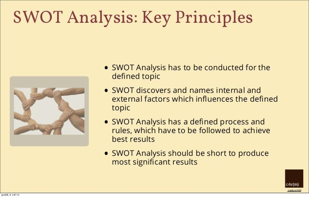 hr swot This ebook describes the swot analysis, a technique that you can perform for   the acronym swot stands for strengths, weaknesses, opportunities, and.