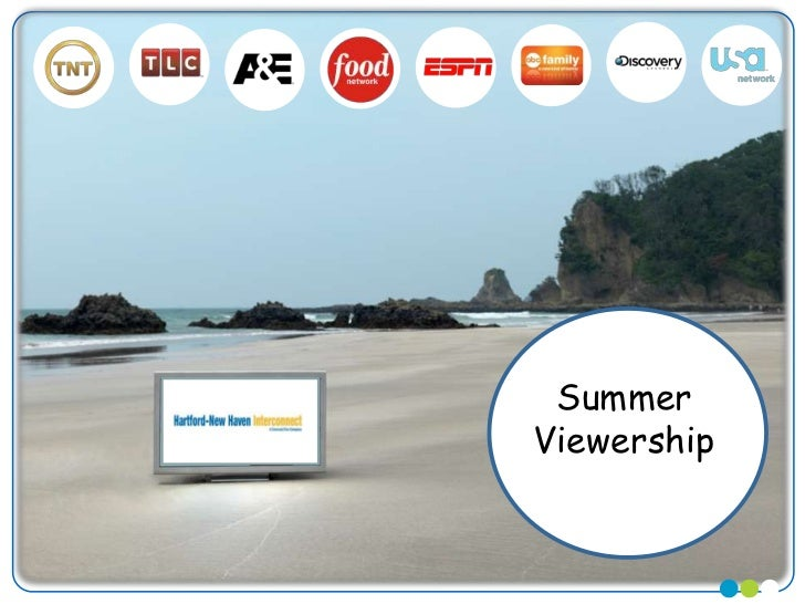 Hartford-New Haven 2011 Cable Summer Viewership