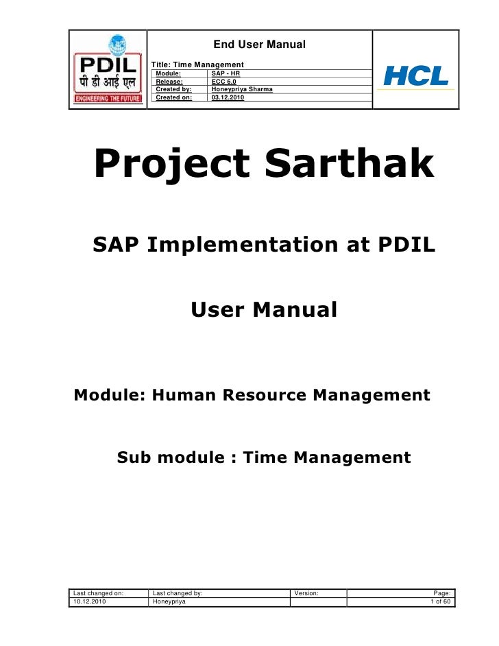 sap sd end user training manual pdf
