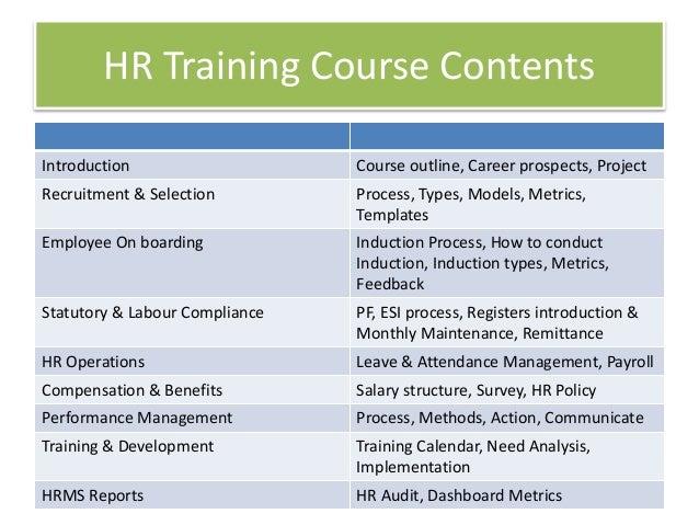 Best HR Training Courses in Dubai, UAE, Abu Dhabi