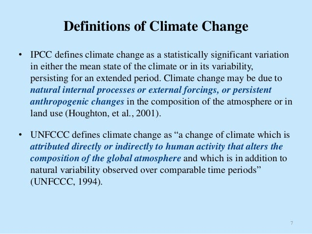 Climate definition