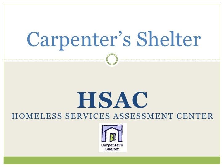 Homeless Services Assessment Center