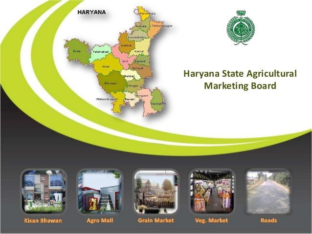 Haryana State Agricultural    Marketing Board