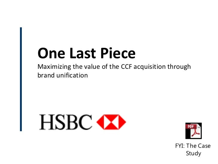 Case Study: HSBC Rebranding in France