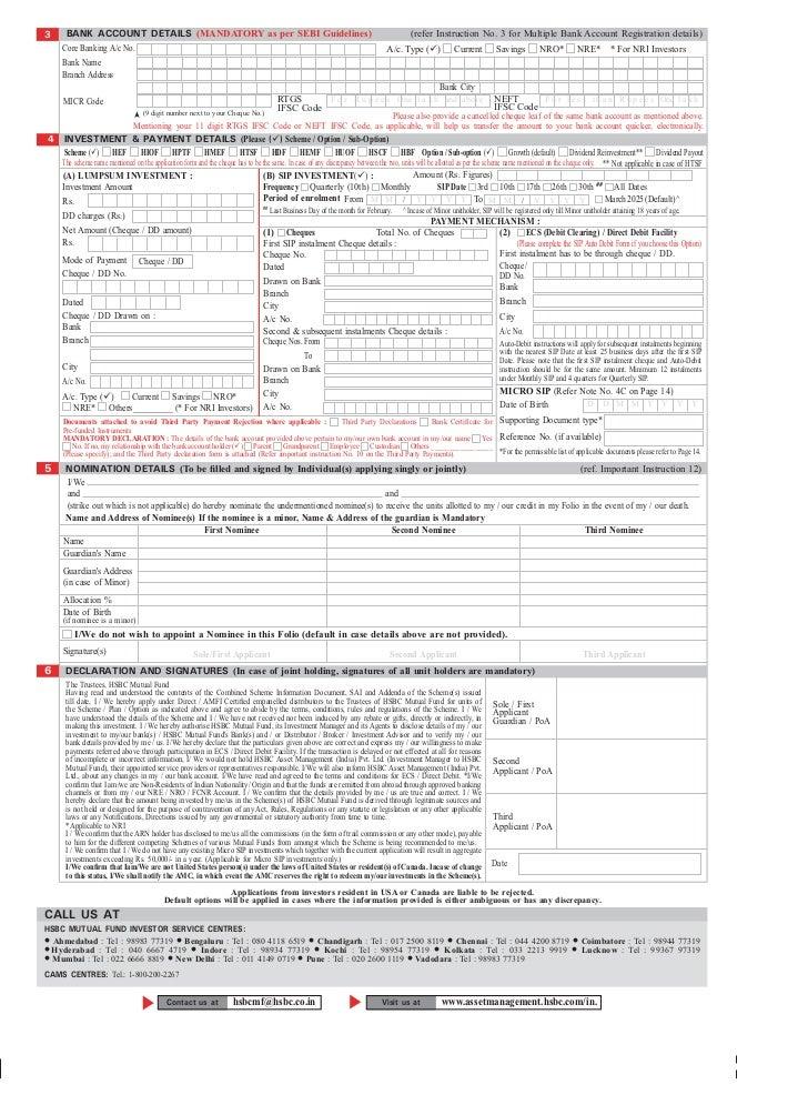 Letter Of Application Letter Of Credit Application Form Hsbc