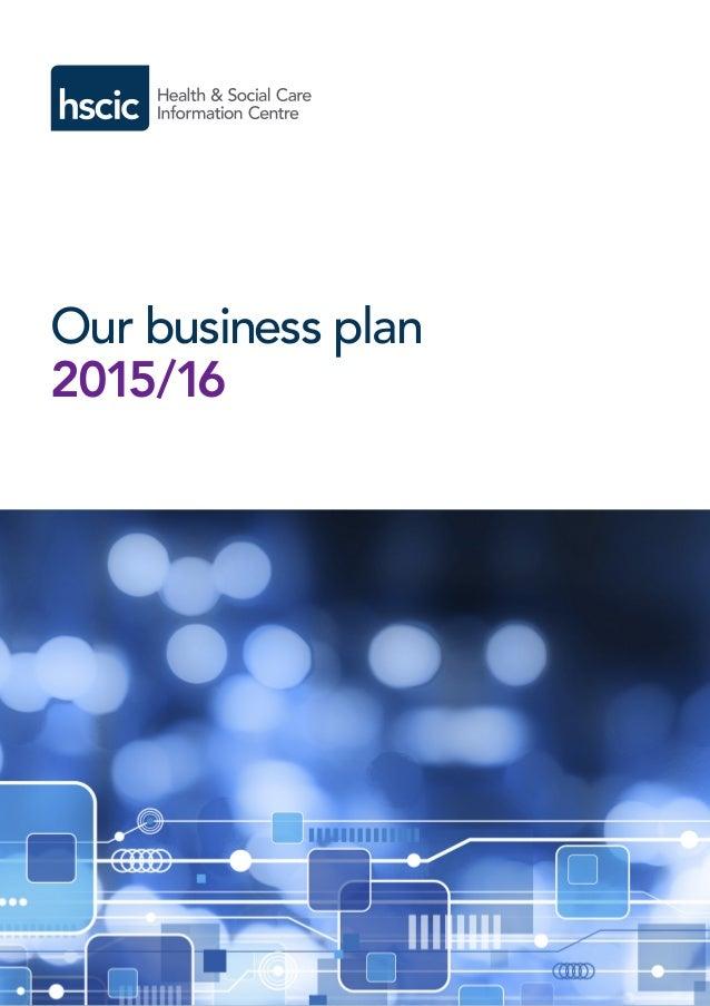 Health business plan