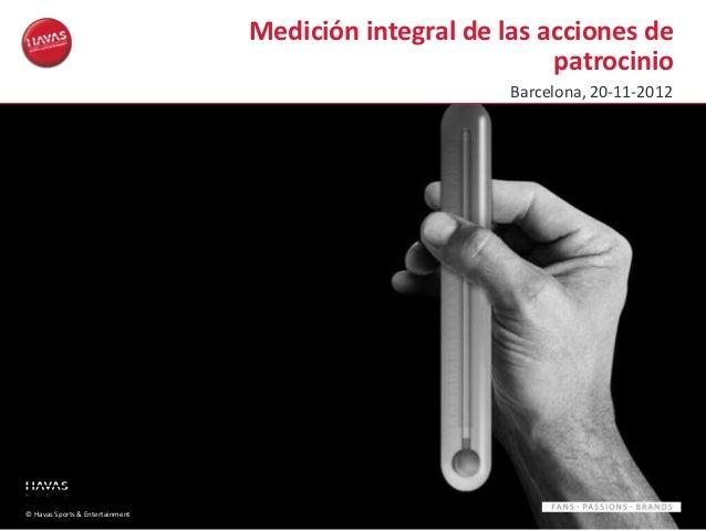HS&E - Sponsorship Funnel - Un modelo de medición integral de la eficacia de una acción de patrocinio