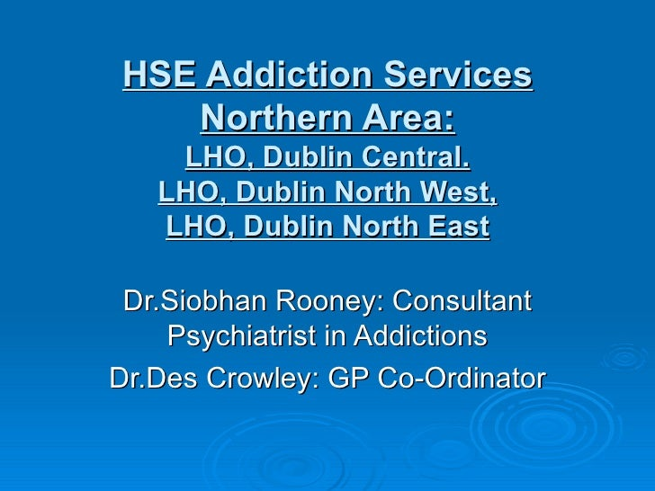 Hse addiction services