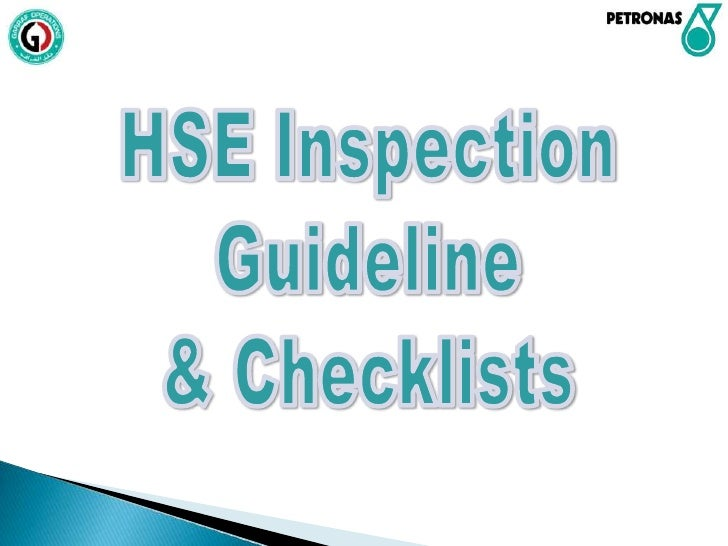 Introduction Safety inspections are basic tools for establishing and  maintaining safe conditions and discovering unsafe ...