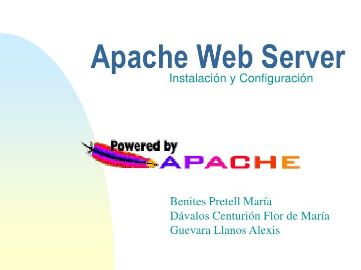 H:\Servidores Web\Apache