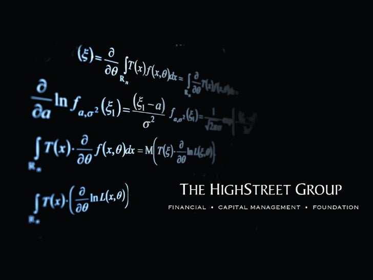 The HighStreet Group