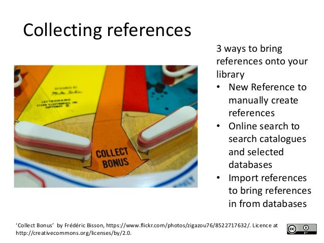 using reference management tools endnote and zotero endnote web 10 collecting references