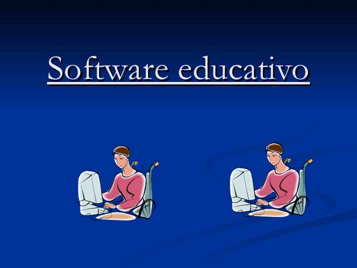 trabajo de software educativo