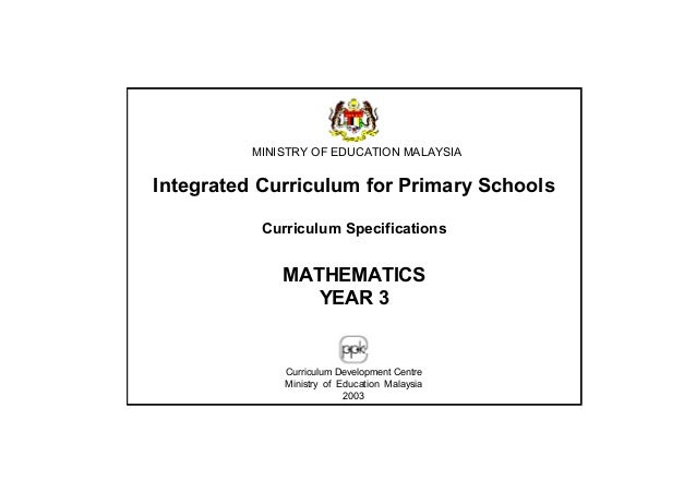 MATHEMATICS YEAR 3