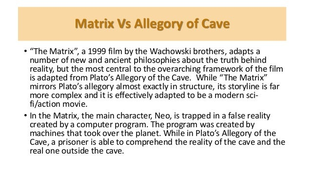 thesis of the allegory of the cave by plato