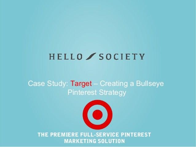 Case Study: Target – Creating a Bullseye Pinterest Strategy