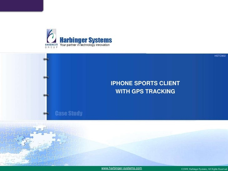 Mobile Sports Client with GPS Tracking - A Case Study