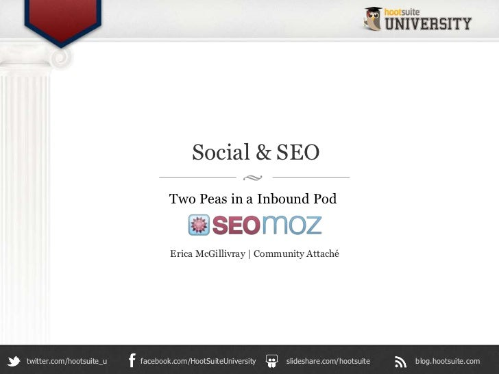 Social & SEO: Two Peas in an Inbound Pod