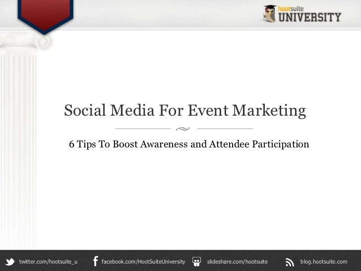 Social Media for Event Marketing