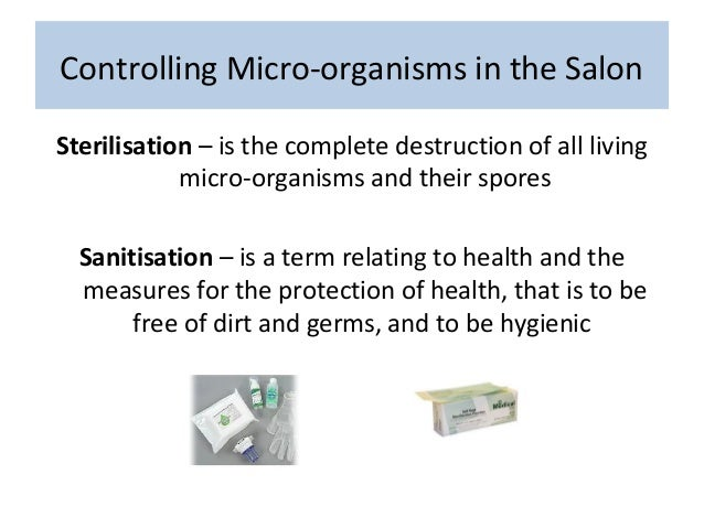 Hs week 3 blended learning for 3 methods of sterilization in the salon