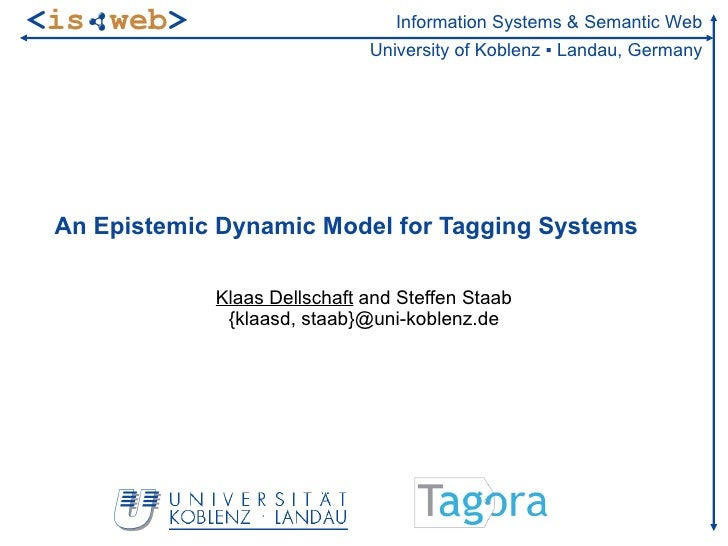 <is web>                         Information Systems & Semantic Web                              University of Koblenz ▪ L...