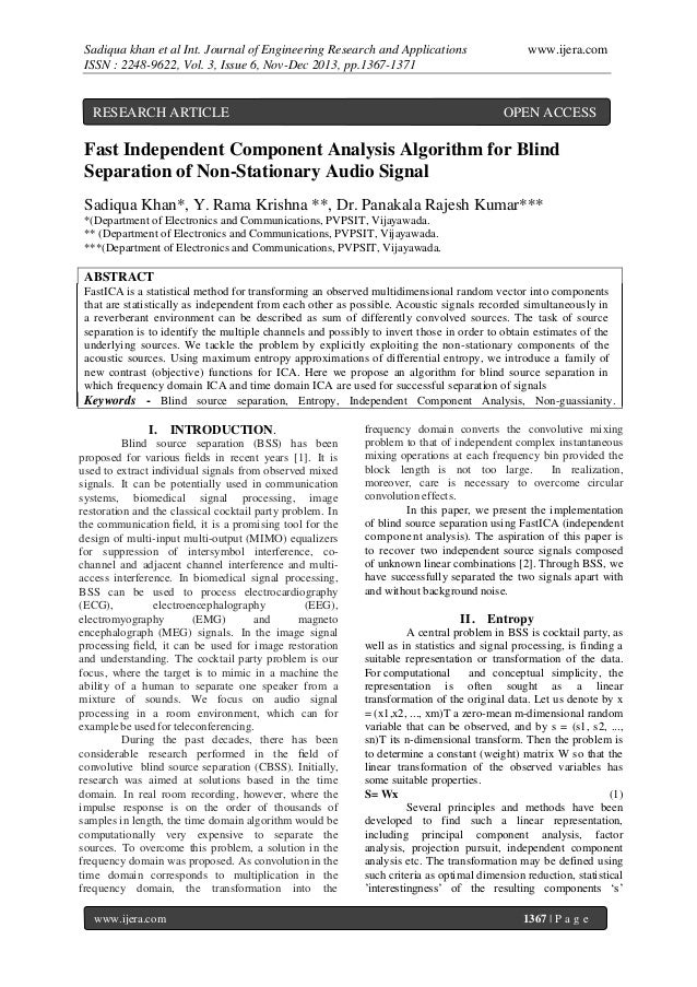 Sadiqua khan et al Int. Journal of Engineering Research and Applications ISSN : 2248-9622, Vol. 3, Issue 6, Nov-Dec 2013, ...