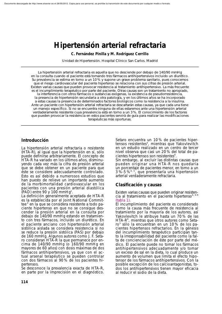 Documento descargado de http://www.elsevier.es el 28/05/2012. Copia para uso personal, se prohíbe la transmisión de este d...