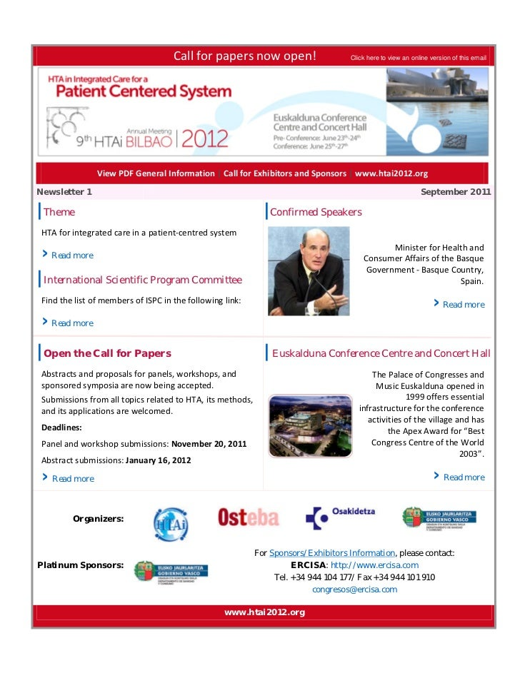 Callforpapersnowopen!               Click here to view an online version o...