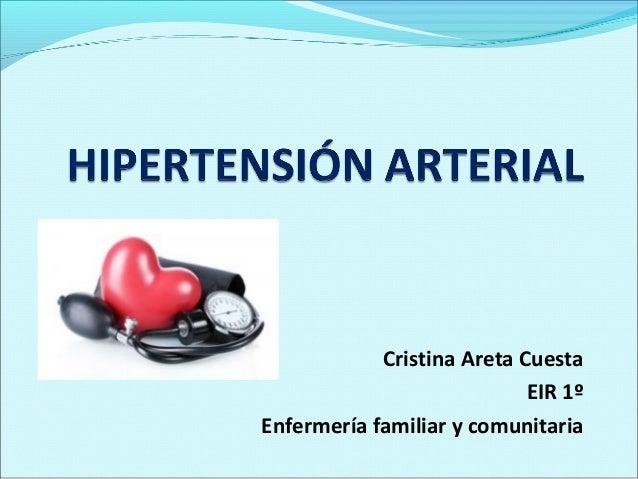 Cristina Areta Cuesta                            EIR 1ºEnfermería familiar y comunitaria