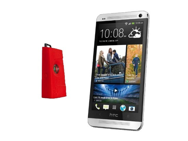 HTC Bluetooth Low Energy and the TI SensorTag