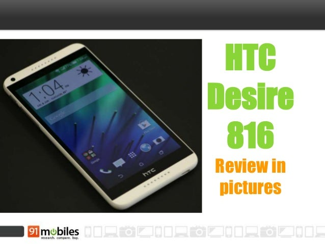 HTC Desire 816 Review in pictures