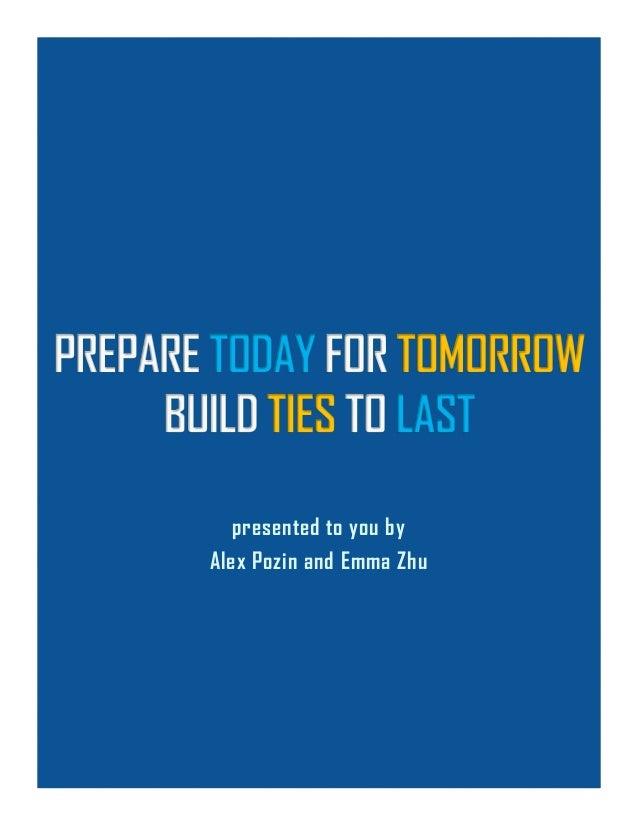 presented to you by Alex Pozin and Emma Zhu